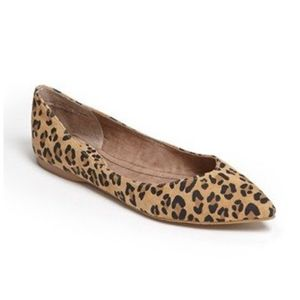 .bp (from Nordstrom) Leopard Flats Size 6